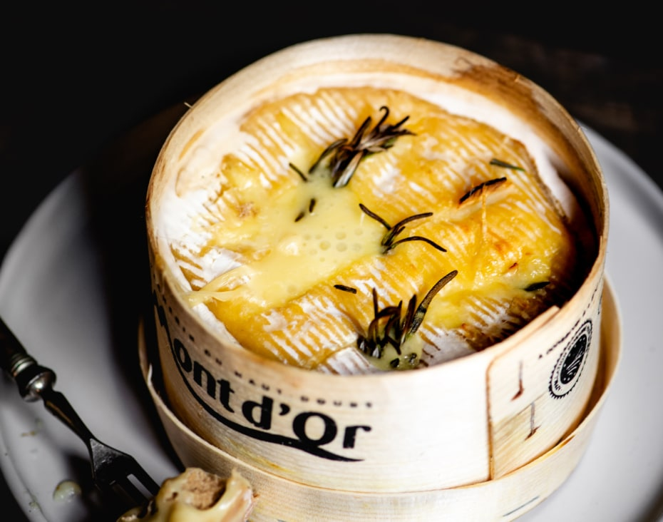 Vacherin Mont d'Or uit de oven