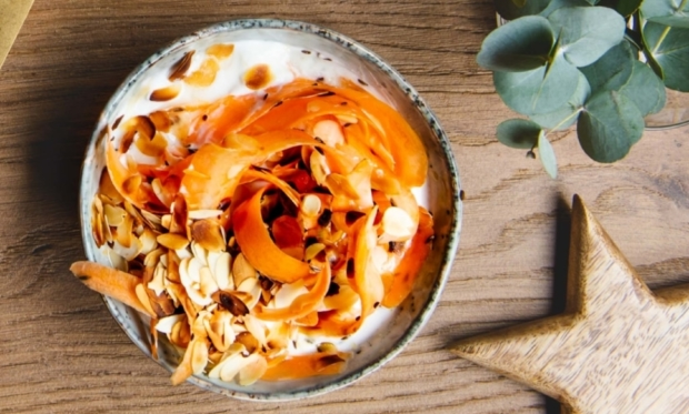 Hartige Boer'n Yoghurt met wortel