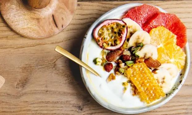 Boer'n Yoghurt met grapefruit en passievrucht