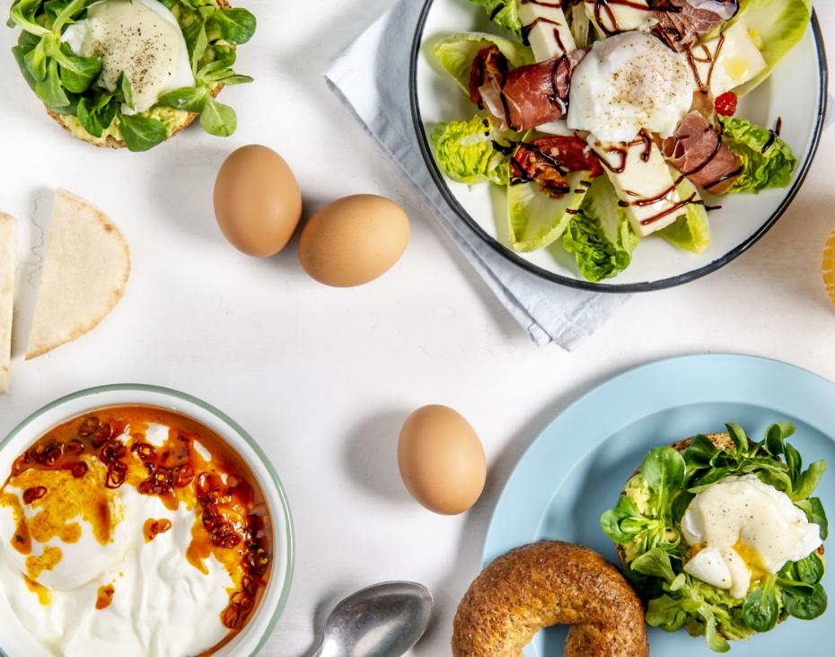 Cheesy egg salad