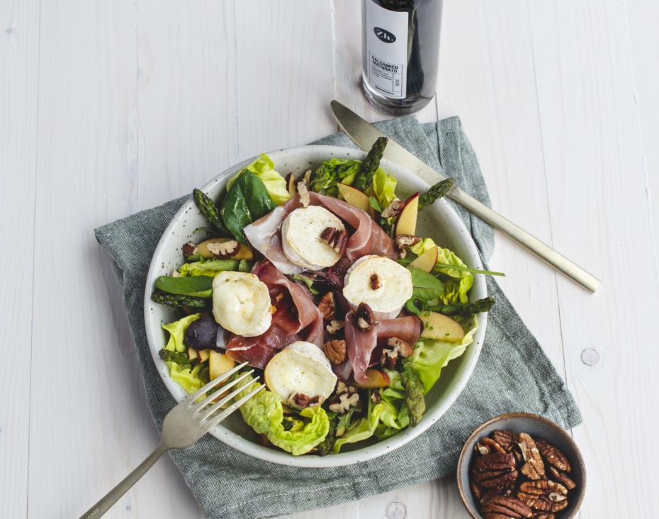 Grilled Goat salad