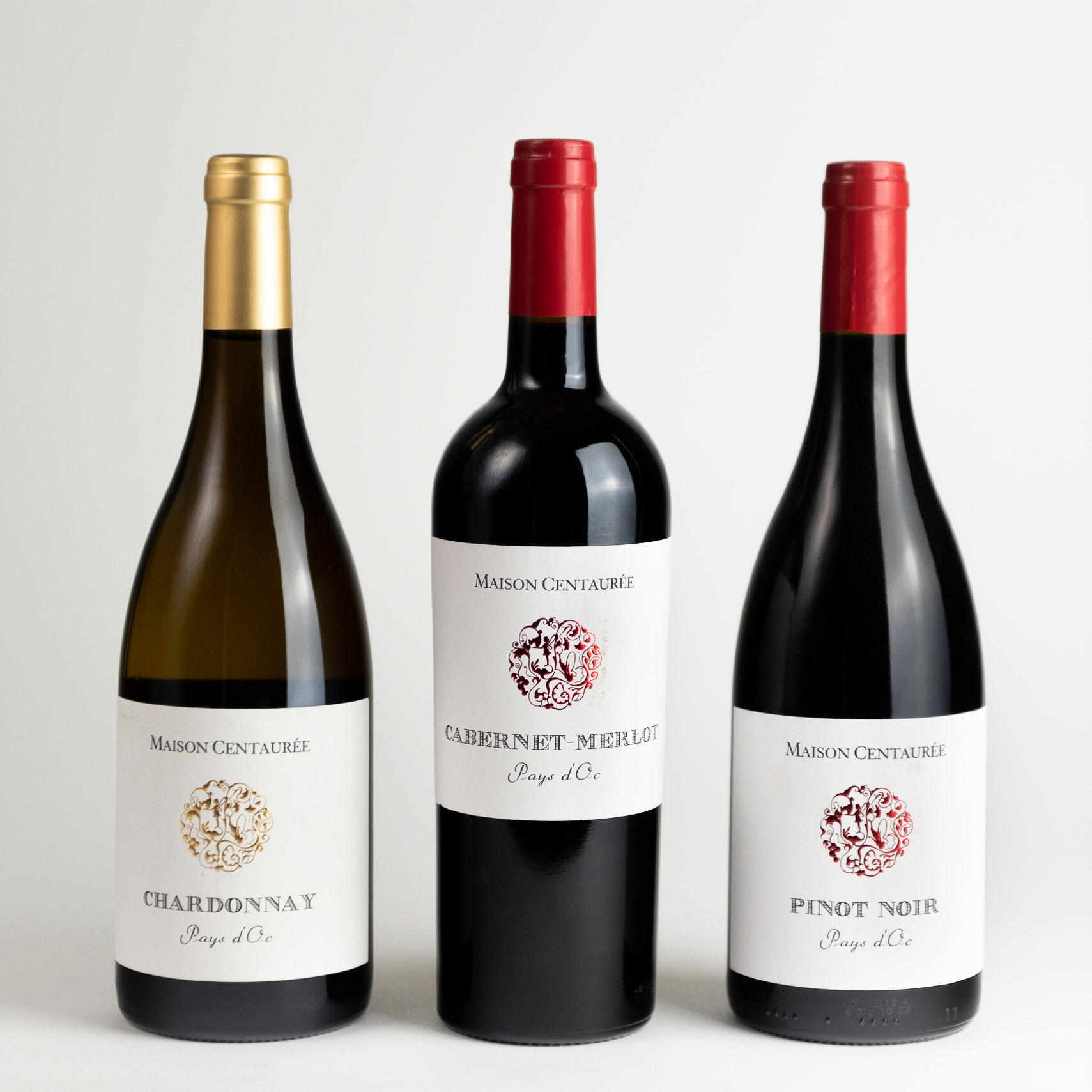 Maison Centaurée | Chardonnay, Cabernet Merlot & Pinot noir