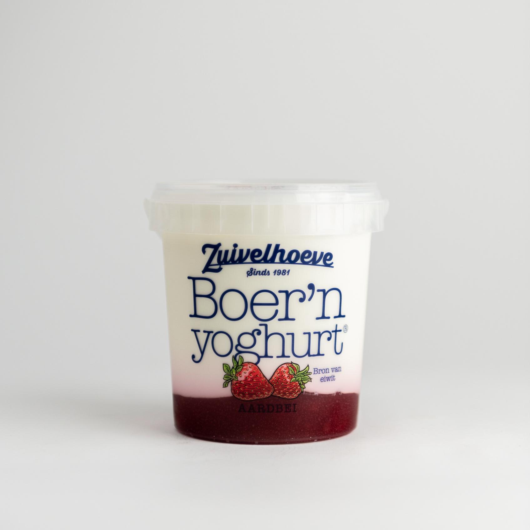 Boer'n Yoghurt® Aardbei