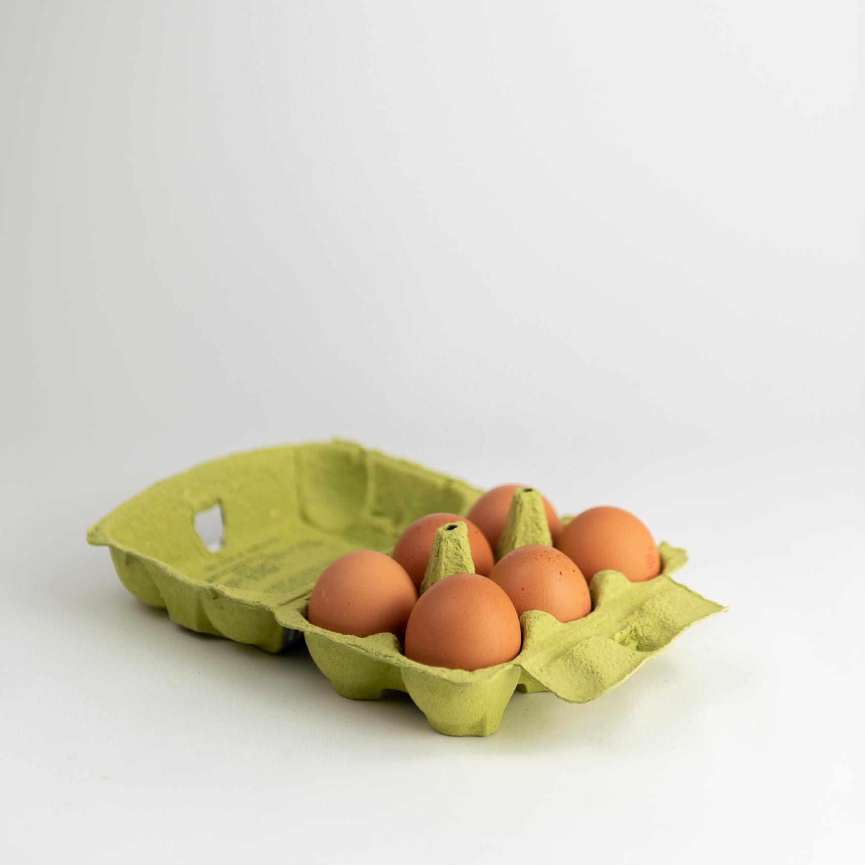Doos eieren | 6 stuks