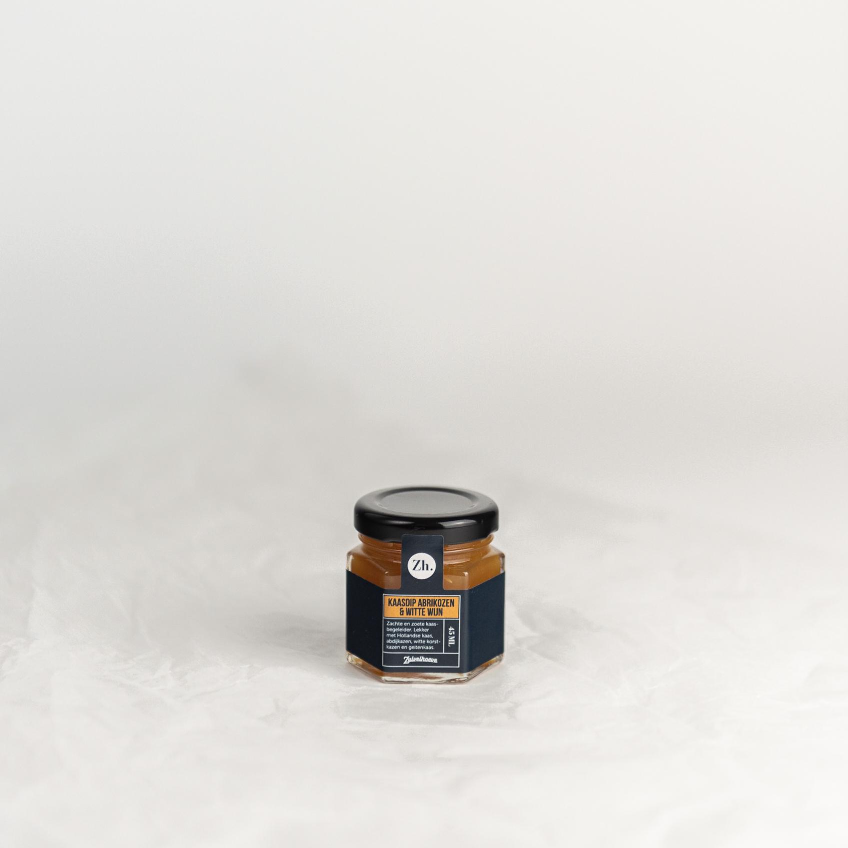 Kaasdip mini | Abrikoos & Witte wijn