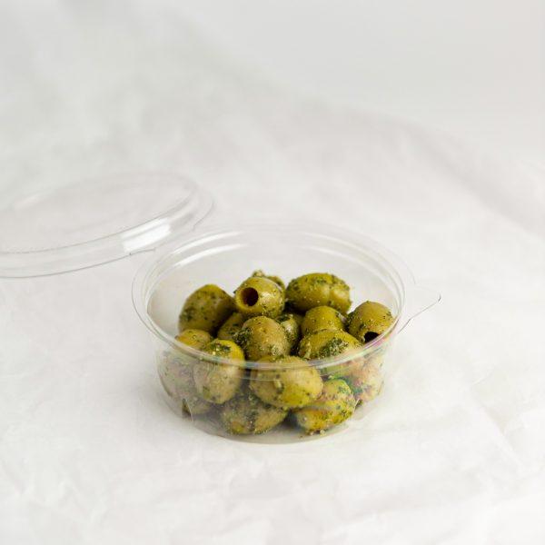 Griekse olijven   Pesto