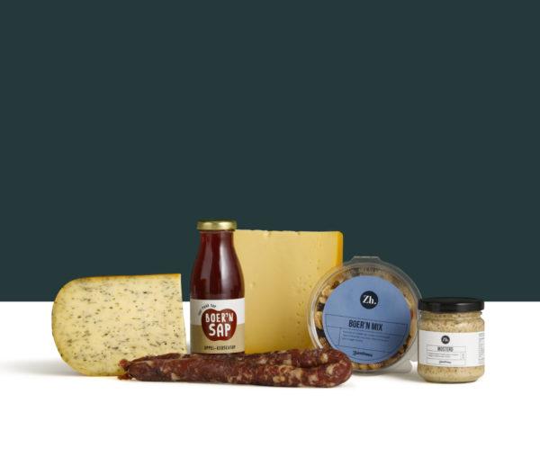 Kerstpakket Klein met boerenproducten