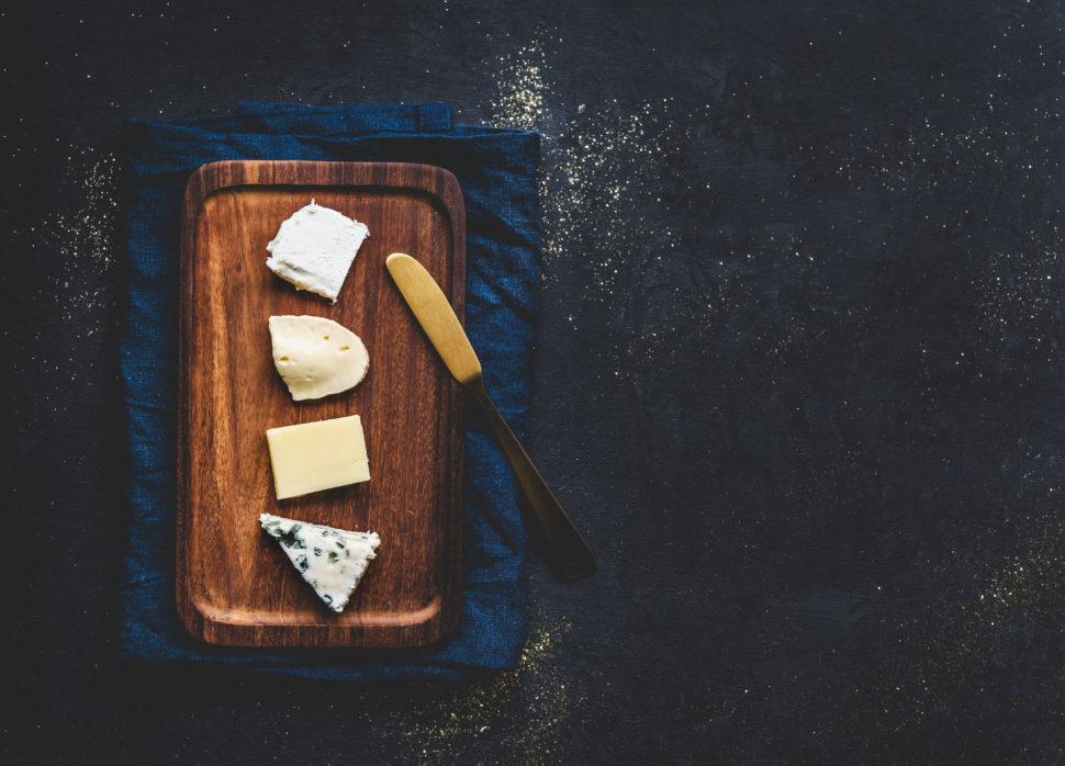 4 x kaas als dessert